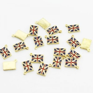 Подвеска Британский флаг #1161