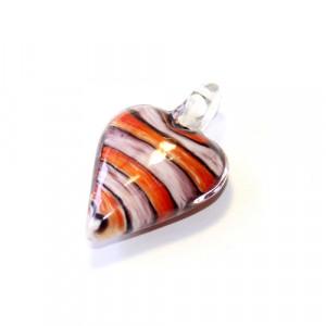 Кулон Lampwork Сердце #1043
