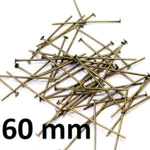 Пины-гвоздики 60 мм 1 гр (4 шт) #1708