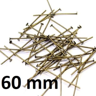Пины-гвоздики 60 мм 1 гр (4 шт) оптом