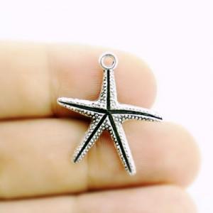 Подвеска Морская звезда 28х23 #3888