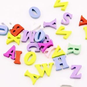 Буквы деревянные МИКС 15х14х4 #2144