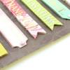 Декоративные 3D стикеры-надписи (7 шт) оптом