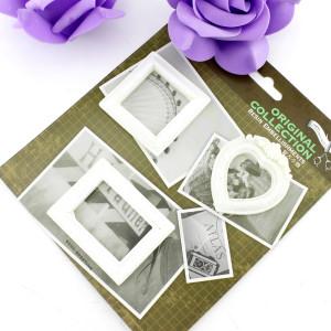Декоративные 3D элементы 3шт Рамка для фото #10318