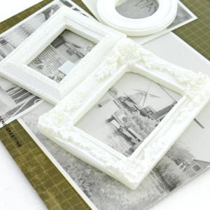 Декоративные 3D элементы 3шт Рамка для фото #10323