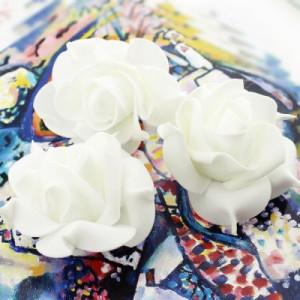 Цветы D=70 Белые #4170