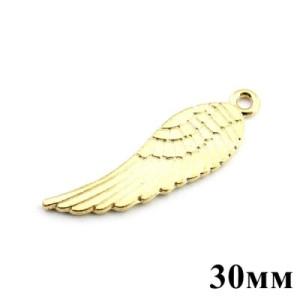Подвеска Золотое крыло 30мм #5122