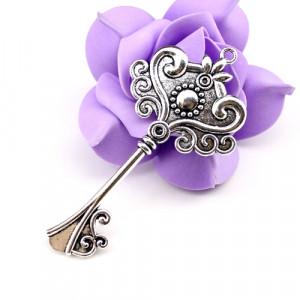 Основа для кулона D=20 Ажурный Ключ #1631