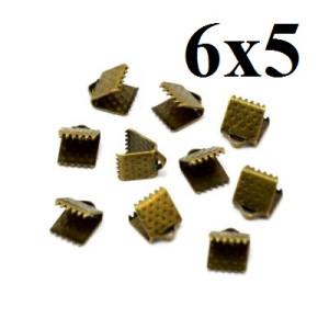 Зажимы для лент 6 мм #3727