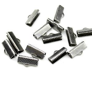 Зажимы для лент 16 мм Серебро #4790