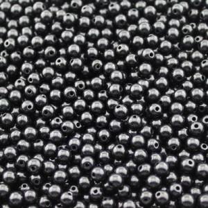 Бусины D=6, 1 гр (10шт) Черные #1680