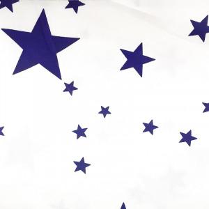 Ткань для пэчворка 40х60см Звёзды Синие #11970