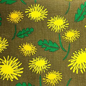 Ткань для пэчворка 40х60см Одуванчики #11973
