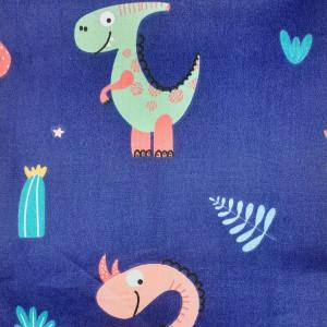 Ткань для пэчворка 40х60см Динозаврики #11974