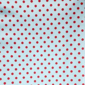 Ткань для пэчворка 40х60см Горох красный #11980