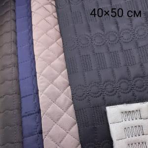 Ткань подкладочная стёганая 40х50см #12180