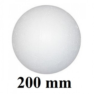 Шар из пенопласта 200мм #1950