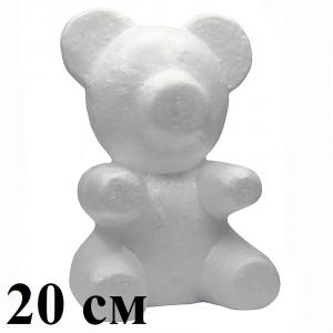 Мишки из пенопласта 20см #2294
