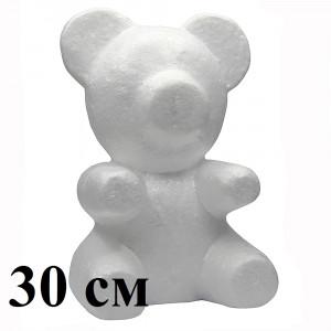 Мишки из пенопласта 30 см #5009