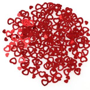 Пайетки Набор сердечек, 15гр #10669