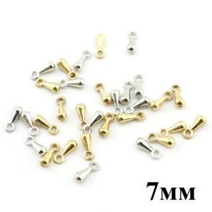 Концевики-утяжелители 7 мм 1 гр (10шт) #3780