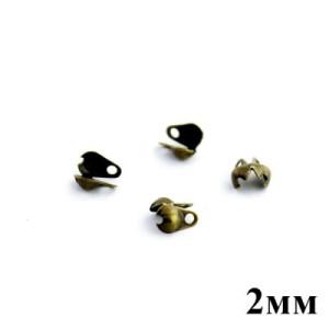 Каллоты-зажимы 2 мм 1 гр (35 шт) #5346