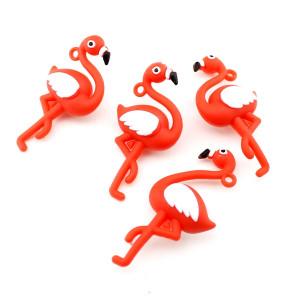 Подвеска Красный Фламинго #5610