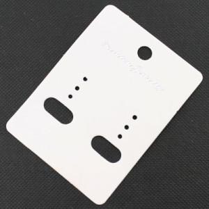 Универсальные подложки 50х67 мм для серёжек 20 шт #3612