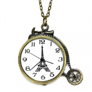 Карманные часы Велосипед #6889