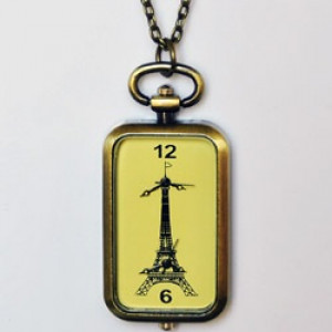 Прямоугольные Карманные часы #6932