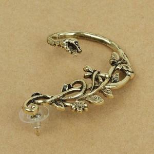 Кафф Змея и Цветы  #5986